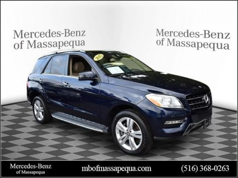 Certified Pre-Owned 2015 Mercedes-Benz ML 250 AWD
