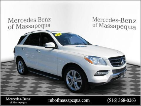 Certified Pre-Owned 2014 Mercedes-Benz ML 350 AWD