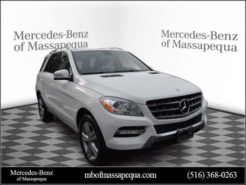 Certified Pre-Owned 2015 Mercedes-Benz ML 350 AWD