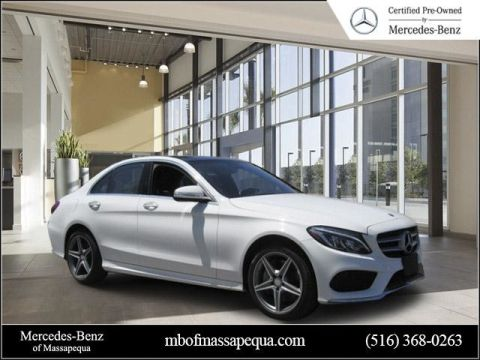 Certified Pre-Owned 2015 Mercedes-Benz C-Class C 300 AWD 4MATIC®