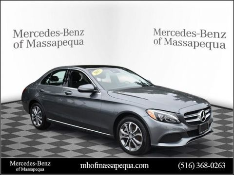 Pre-Owned 2017 Mercedes-Benz C 300 AWD