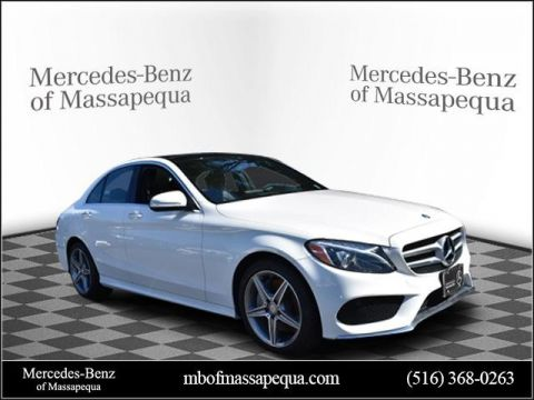 Pre-Owned 2015 Mercedes-Benz C 300 Sport AWD