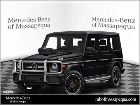 New 2018 Mercedes-Benz AMG® G 63 SUV AWD