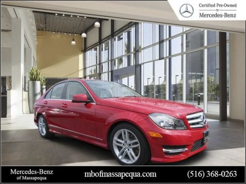 Certified Pre-Owned 2013 Mercedes-Benz C-Class C 300 Sport AWD 4MATIC®