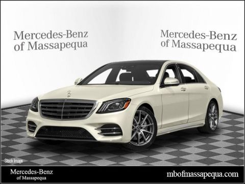 New 2018 Mercedes-Benz S 450 AWD