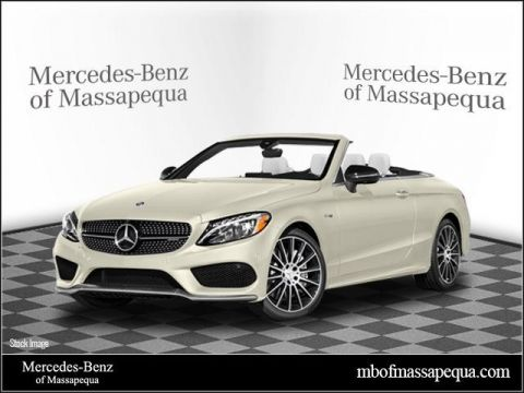 New 2018 Mercedes-Benz C 43 AMG® Cabriolet AWD