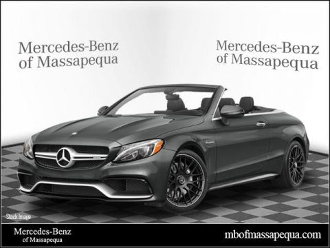 New 2018 Mercedes-Benz C 63 AMG® Cabriolet