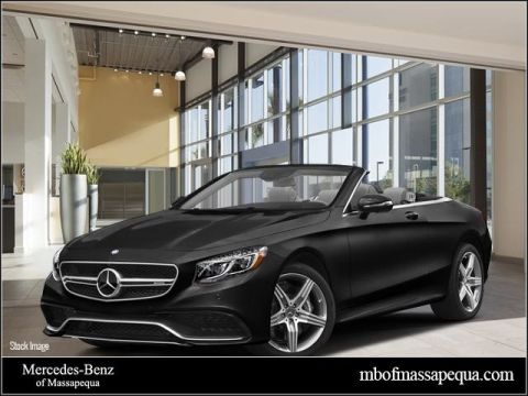 New 2017 Mercedes-Benz S-Class S 63 AMG® Cabriolet
