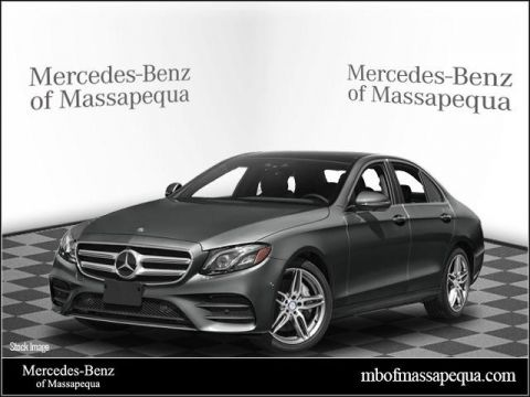 New 2018 Mercedes-Benz E 400 AWD