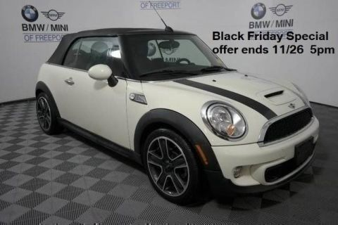 Pre-Owned 2011 MINI Cooper Convertible s