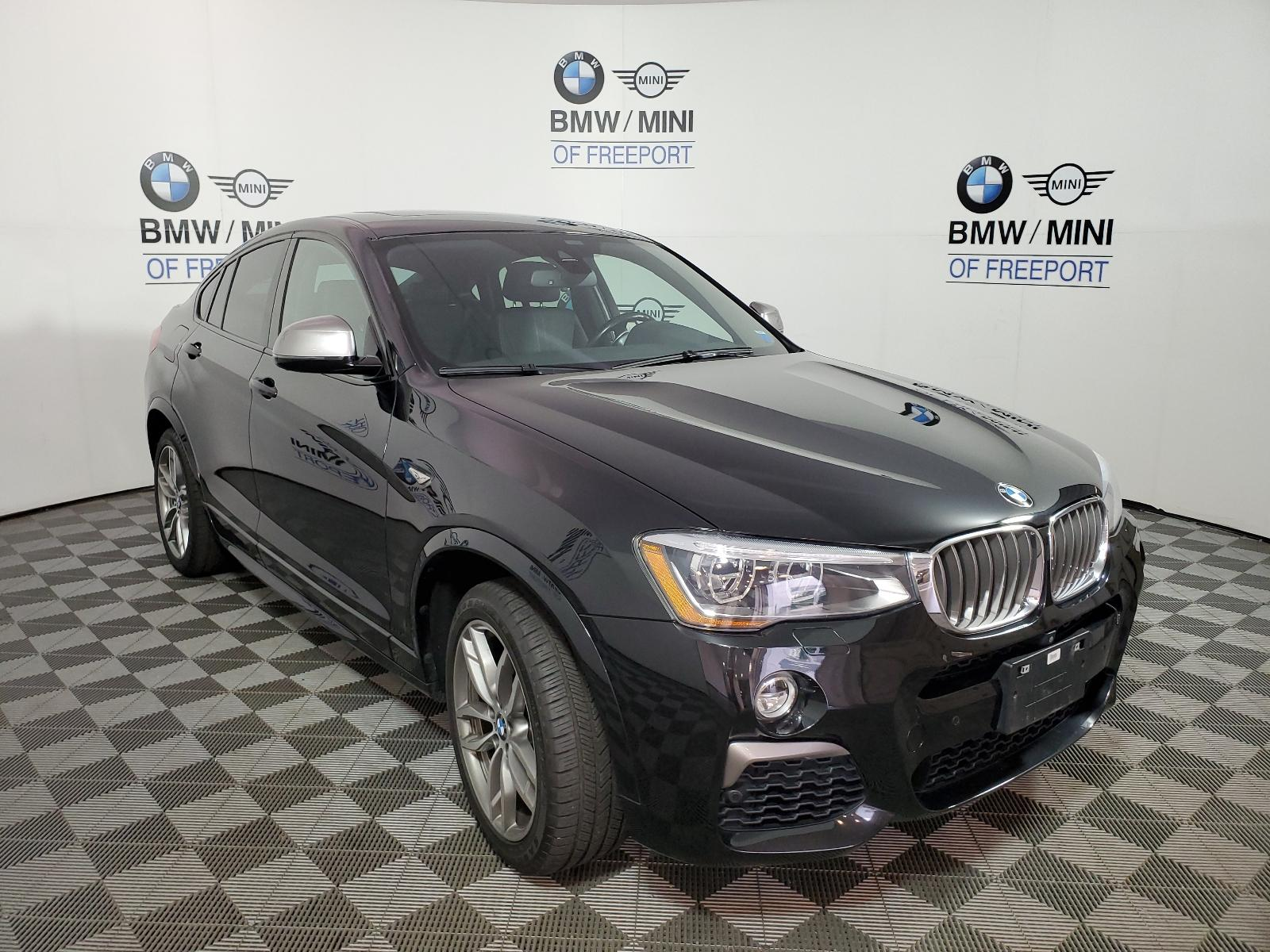 Pre-Owned 2017 BMW X4 M40i Sports Activity Coupe