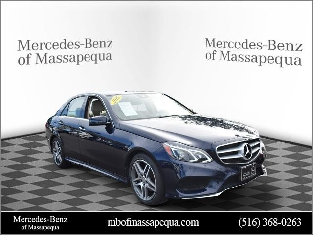 Mercedes Certified Pre Owned >> Certified Pre Owned 2016 Mercedes Benz E Class E 350 Sport Sedan In