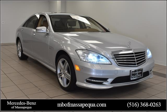 Pre-Owned 2012 Mercedes-Benz S-Class S 550 Sport