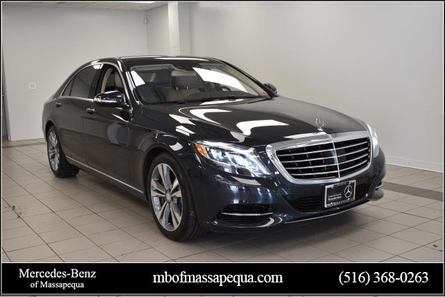 Certified Pre-Owned 2015 Mercedes-Benz S-Class 4dr Sdn S 550 4MATIC®