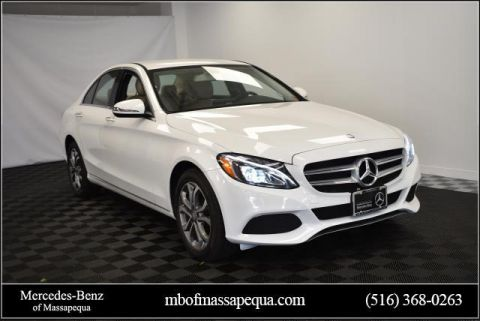 Certified Pre-Owned 2016 Mercedes-Benz C-Class 4dr Sdn C 300 4MATIC®