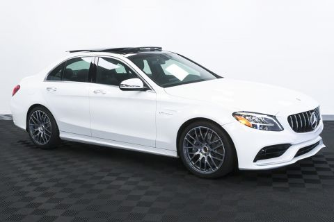 New 2020 Mercedes-Benz C-Class AMG® C 63 Sedan