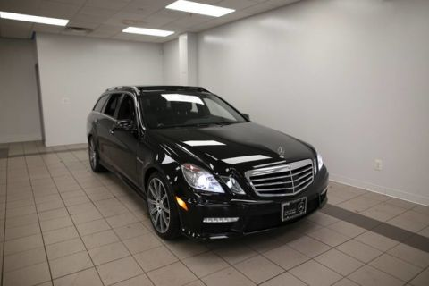 Certified Pre-Owned 2013 Mercedes-Benz E-Class AMG® E 63 S Wagon