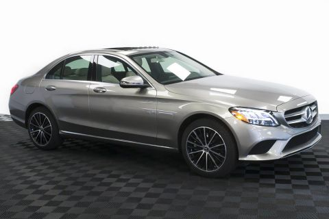 New 2020 Mercedes-Benz C-Class C 300 4MATIC® Sedan