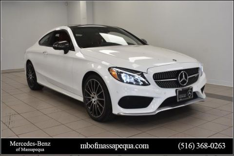 Certified Pre-Owned 2018 Mercedes-Benz C-Class AMG® C 43 4MATIC® Coupe