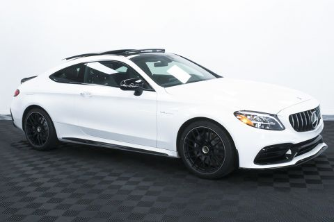 New 2020 Mercedes-Benz C-Class AMG® C 63 Coupe