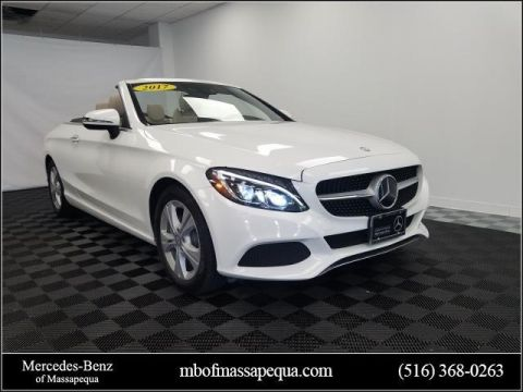 Certified Pre-Owned 2017 Mercedes-Benz C-Class C 300 4MATIC® Cabriolet